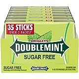 DOUBLEMINT Gum 35 stick SugarFree MegaPack 4.7 oz -Pack of 6