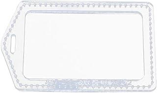 kowaku Modèle de Pochoirs en Acrylique Modèle de Porte-Badge en Cuir pour Carte D'identité