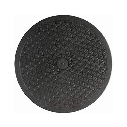Kliwill Mini Bonsai Turntable Base Stainless Steel Ball Bearings 360-Degree Rotation Easy Pruning Black (12')