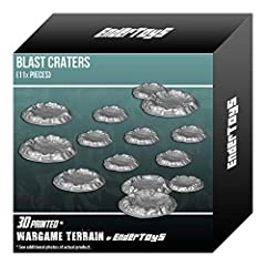 3D printed with eco-friendly PLA plastic, a role playing game model set 11 pieces of terrain buildings; perfect for a wargaming landscape! Paintable (primer recommended) Suitable for medieval, contemporary, and futuristic war game settings and battle...