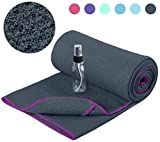 Heathyoga Non-Slip Yoga Towel