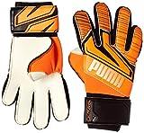 PUMA Puma Ultra Grip 1 Junior RC Guantes De Portero, Unisex Adulto, Shocking Orange/Puma White/Puma Black, 5