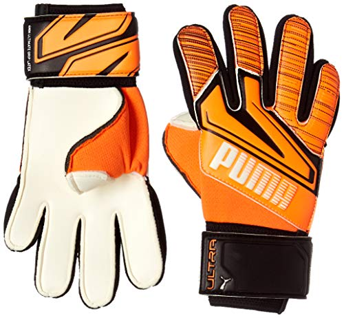 PUMA Ultra Grip 1 Junior RC Guantes De Portero, Unisex Adulto, Shocking Orange White Black, 5