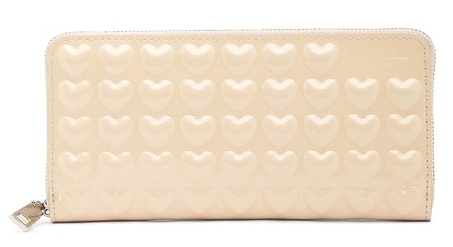 全体に専門用語呪われたMarc Jacobs レディース Embossed Hearts Continental Wallet