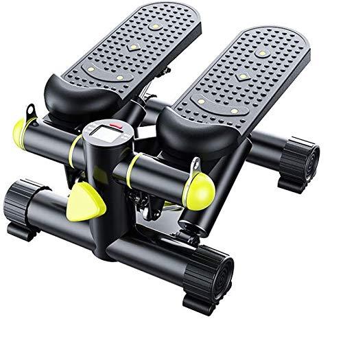 Mini Stepper Aerobic Stepper Perder Peso rápidamente Quemar Grasa Construcción de músculo Equipo Deportivo Bicicleta elíptica Plegable para el hogar hasta 150 kg