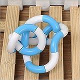 Esta.east Juguete Magic Rope Winding Toy Dekompressionsspielzeug Fingerspielzeug Size Same (H) -