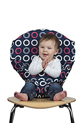Totseat Chair Harness: Portable Travel High Chair in Blueberry