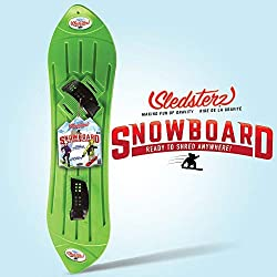 COST EFFECTIVE - Snowboarding is a blast, but it can be expensive to equip kids with all the latest gear. Here's a way to get the speed, the excitement, and the adrenaline rush of snowboarding…for a fraction of the cost! BEST WINTER FUN - Our SLEDSTE...