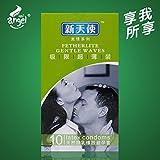 Generic Angel latex condoms for men 52mm ultra thin camisinha limit warmth float condom
