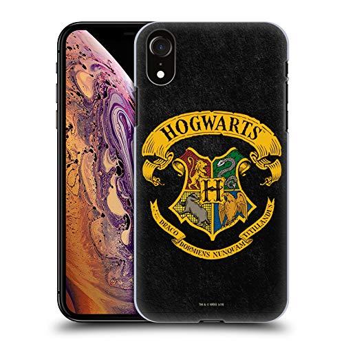 Head Case Designs Officiel Harry Potter Hogwarts Crête Sorcerer's Stone I Coque Dure pour l'arrière Compatible avec Apple iPhone XR