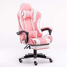 Professional Gaming Chair Fashion Esports Chair Female Anchor Live Chair Female Princess Chair Computer Game Chair Lifting...