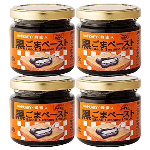 千金丹 黒ごまペースト 4個 箱入 125g×4 黒ごま ペースト ジャム 瓶 パンのお供 ごま 香川