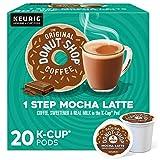 The Original Donut Shop Mocha Latte, Single-Serve Keurig K-Cup Pods, Flavored Coffee, 20 Count