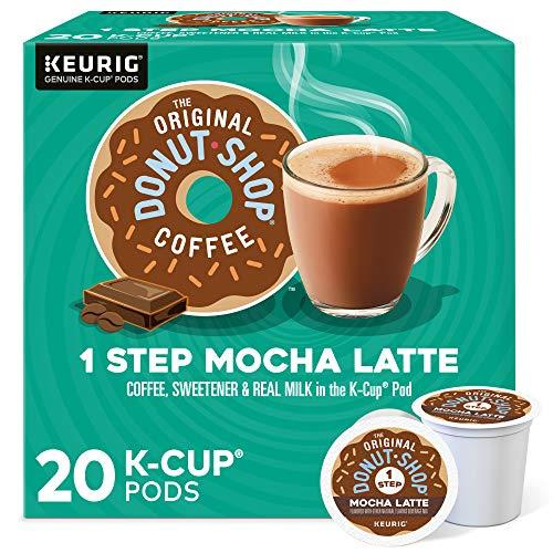 The Original Donut Shop Mocha Latte, Single-Serve...