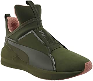 PUMA Womens Fierce Nubuck Naturals Casual Sneakers,