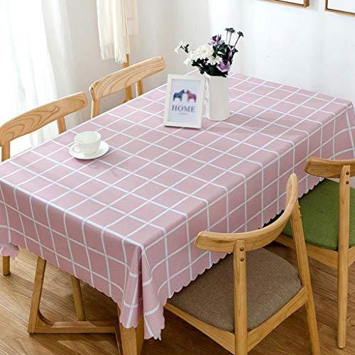 Y-Life Tafelkleed, afwasbaar tafelkleed, rechthoekig, waterdicht tafelkleed van vinylPVC voor de tuin keuken buiten of binnen
