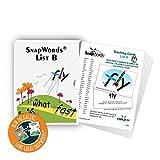 SnapWords List B Teaching Cards - Sight Words