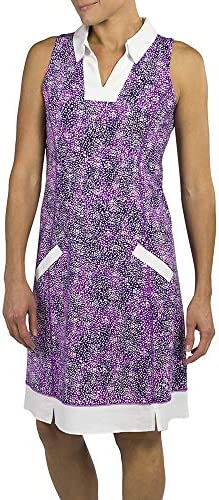 Jofit Women s Athletic Clothing Wide Placket Golf Dress with Built in Undershorts Size XX Small product image
