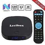 Leelbox MXQ Pro - Android TV Caja (64 bits, 2K & 4K, HDMI, 2.0 Quad Core, 1 GB RAM, 8 GB Flash)