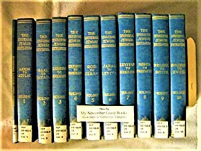 The Universal Jewish Encyclopedia in Ten Volumes (plus Index), Complete Set