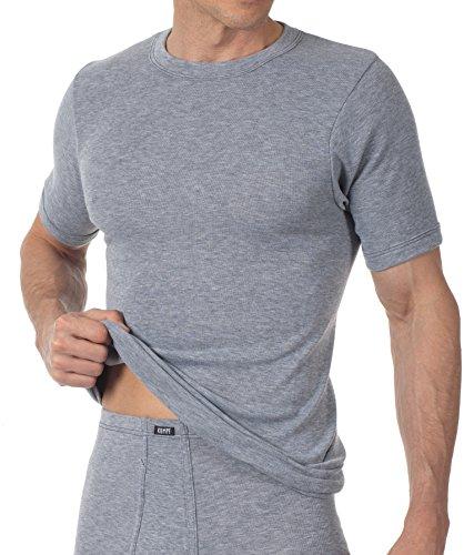 Kumpf 2X Unterhemd 1/2 Arm Trevira Funktionswäsche. 1500153 grau-meliert