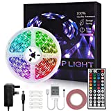 Led Strip Lights with Remote 5m RGB Color Changing Led Lights SMD 5050
