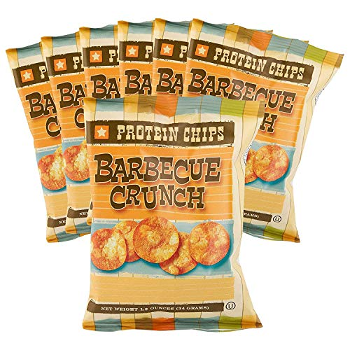 Healthwise High Protein Barbecue Chips 7 Bag Pack by Healthwise NRI