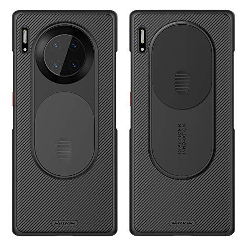 Nillkin CamShield Hülle für Huawei Mate 30 Pro, [Kameraschutz] Thin Fit Premium Bumper Hybrid Hülle für Huawei Mate 30 Pro (Schwarz)