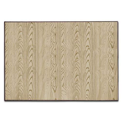 casa pura Alfombras Salon Bambu - Alfombra Madera Bambú | Magenta | Estera de bambú Antideslizante | 2 Colores, Varios tamaños (Natural, 150x200 cm)
