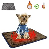 Self Heating Pet Mat Cordless Self Warming Dog Pad Washable Self Heated Cat Bed Thermal Mat Blanket for Dogs and Cats in Cold Weather