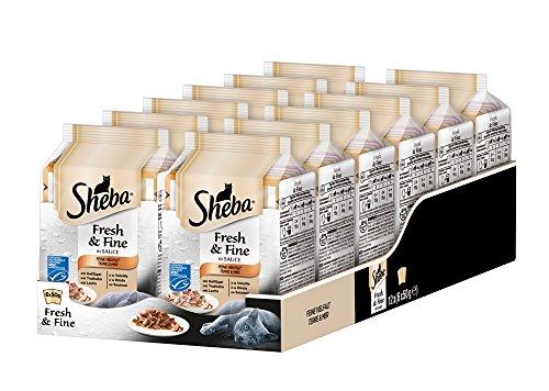 Sheba Fresh & Fine – Nassfutter für Katzen – Im extra kleinen Portionsbeutel - für mehr Variation und Frische