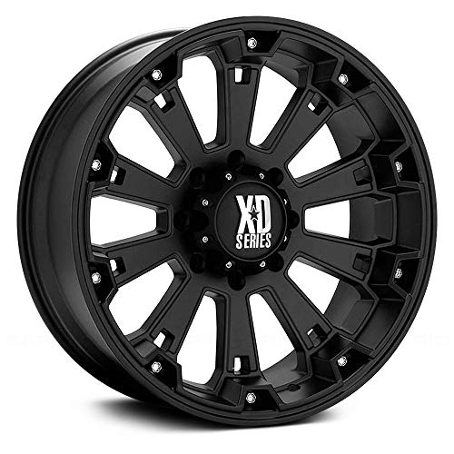 "XD Series by KMC Wheels XD800 Misfit Matte Black Wheel (20x9""/8x165.1mm, 0mm offset)"