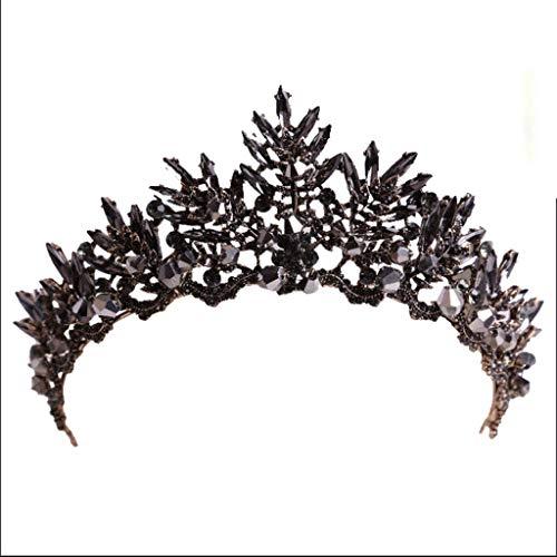 WZHZJ Headwear-Tiara for Mujeres y niñas Desfile Diadema, C