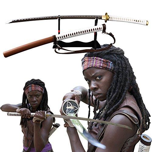 The Walking Dead Japanese Samurai Sword Full Tang Real Sharp Katana Handmade