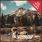 Calendar 2022 Wyoming: Wyoming Official 2022 Monthly Planner, Square Calendar with 19 Exclusive Wyoming Photoshoots from July 2021 to December 2022