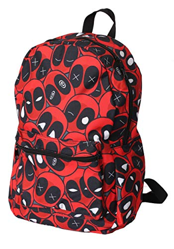 Deadpool Expressions All- Over Print Backpack Standard Red