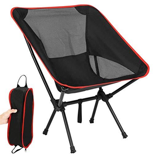BSTCAR Klappstühle mit Aufbewahrungstasche, Angelstuhl Camping Stuhl Regiestuhl Klappbar, Tragbarer Stuhl für Outdoor Picknick Barbecue Sporttreffen,Ultraleicht und Atmungsaktiv