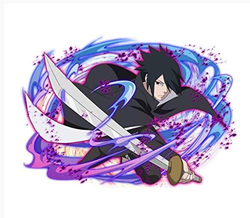 Película Anime Dibujos Animados Ninja Cuchillo Negro Etique