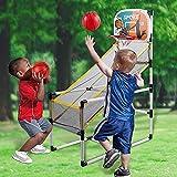 YQZ Juego de Deportes de Interior, aro de Baloncesto extraíble, Juego de Arcade, Juguete de Entrenamiento Mental para niños, Juguetes educativos para niños, Regalo de cumpleaños