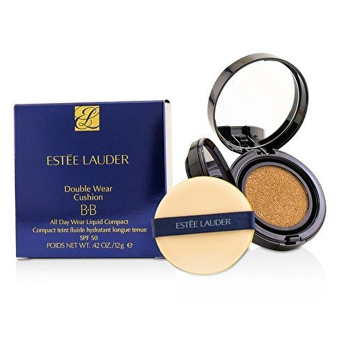 Estee Lauder 855-re9g02Double Wear BB Cushion fondo de bronceado SPF502C2Pale Almond, 12 gr