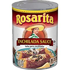 Indulge in a variety of traditional Mexican-style dishes with Rosarita Enchilada Sauce This tomato-based enchilada sauce has a mild heat level Try it with chicken and cheese enchiladas or fiesta 7-layer dip Fits a low carb lifestyle with 2g net carbs...