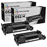 LD Compatible Toner Cartridge Replacement for Canon 052H 2200C001 High Yield (Black, 2-Pack)