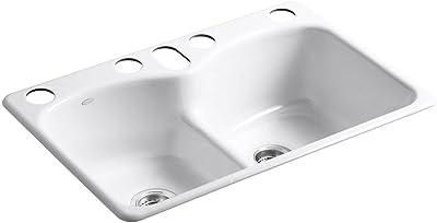 Latoscana 33 Reversible Fireclay Farmhouse Sink Lfs3318w