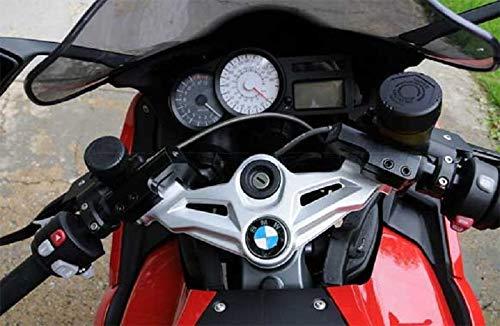 Kit de conversión de manillar y elevador de manillar con desalineación, versión corta, 50 mm, ABE para BMW K1300S