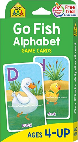 School Zone - Go Fish Alphabet Game…
