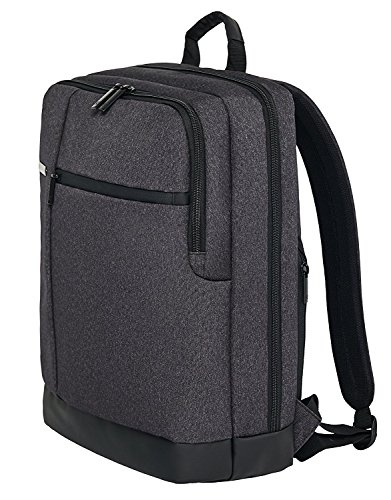 WeCool Canvas 15.6 Inch Dark Grey Laptop Backpack