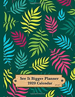 See It Bigger Planner 2020 Calendar 8.5