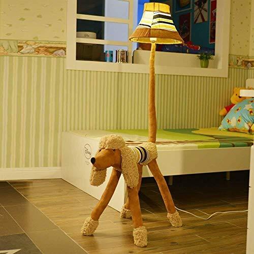 YHtech Niño de pie luminarias encantador del paño vertical Lámparas de pie, de pie luminarias dormitorio de la sala de estar Estudio de Iluminación Incluye bombilla, interruptor de control remoto