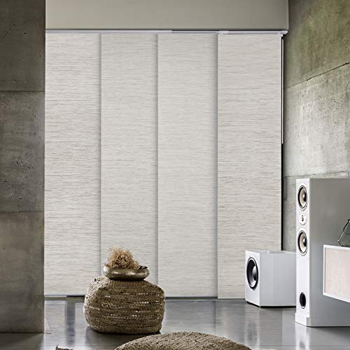 GoDear Design Deluxe 99.99% Blackout Adjustable Sliding Panel Track Blind 45.8