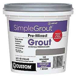 best shower tile grout